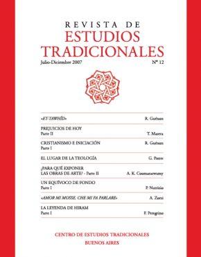 REVISTA DE ESTUDIOS TRADICIONALES Nº 12