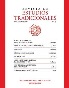 REVISTA DE ESTUDIOS TRADICIONALES Nº 14