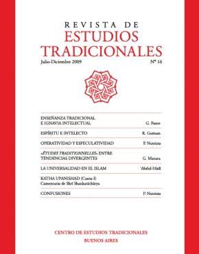 REVISTA DE ESTUDIOS TRADICIONALES Nº 16