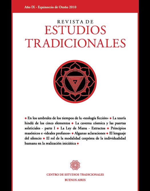 REVISTA DE ESTUDIOS TRADICIONALES Nº 17