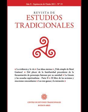 REVISTA DE ESTUDIOS TRADICIONALES Nº 19
