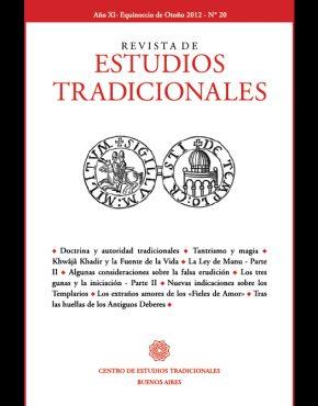 REVISTA DE ESTUDIOS TRADICIONALES Nº 20