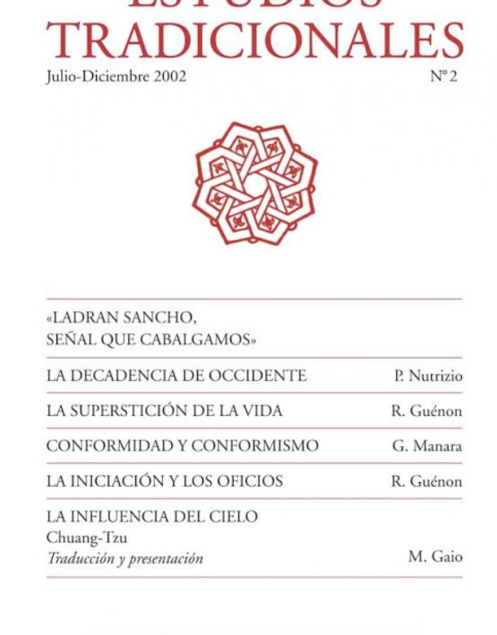 Revista de Estudios Tradicionales 2